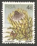 Stamps South Africa -  Protea longifolia