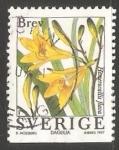 Sellos de Europa - Suecia -   Lirios de día.