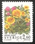 Stamps Sweden -  FLORES CAMPESTRES