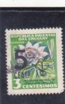 Stamps Uruguay -  FLORES-PASIONARIA
