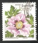 Sellos del Mundo : Europa : Suecia : Peonía Árbol,