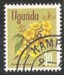 Sellos del Mundo : Africa : Uganda : Ochna Ovata