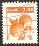 Sellos del Mundo : America : Brasil : Naranja