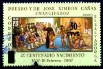 Stamps : America : El_Salvador :  EL SALVADOR_SCOTT C405 2º CENT PADRE JOSE SIMEON CAÑAS. $0,25