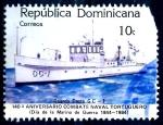 Stamps : America : Dominican_Republic :  REP DOMINICANA_SCOTT 903 140º ANIV COMBATE NAVAL TORTUGUERO. $0,20
