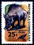 Sellos de America - Rep Dominicana -  REP DOMINICANA_SCOTT 914 PUERCO SALVAJE. $0,35