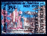 Sellos de America - Rep Dominicana -  REP DOMINICANA_SCOTT 917.02 DESTRUCCION DEL FUERTE NAVIDAD. $0,30