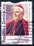 Stamps : America : Dominican_Republic :  REP DOMINICANA_SCOTT 957 ARZOBISPO FERNANDO ARTURO. $0,35