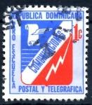 Stamps : America : Dominican_Republic :  REP DOMINICANA_SCOTT RA53.01 PROESCUELA POSTAL Y TELEGRAFICA. $0,20