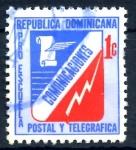Stamps : America : Dominican_Republic :  REP DOMINICANA_SCOTT RA53.02 PROESCUELA POSTAL Y TELEGRAFICA. $0,20