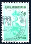 Stamps Dominican Republic -  REP DOMINICANA_SCOTT RA96.01 LIGA DOMINICANA CONTRA EL CANCER. $0,20