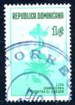 Sellos de America - Rep Dominicana -  REP DOMINICANA_SCOTT RA96.02 LIGA DOMINICANA CONTRA EL CANCER. $0,20