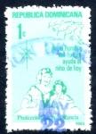 Stamps : America : Dominican_Republic :  REP DOMINICANA_SCOTT RA97.01 PROTECCION DE LA INFANCIA. $0,20
