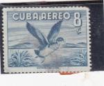 Sellos de America - Cuba -  AVE ACUATICA