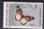 Stamps Burkina Faso -  MARIPOSA-