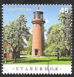 Stamps Germany -  Faro de Staberhuk