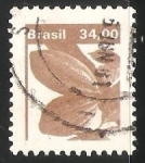 Sellos de America - Brasil -  Cacao