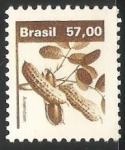 Sellos del Mundo : America : Brasil : Amendoin (mani)