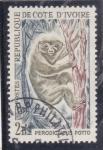 Stamps Ivory Coast -  PERODICTICUS POTTO