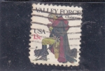 Stamps United States -  VALLEY FORGE-NAVIDAD
