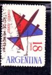 Sellos del Mundo : America : Argentina :  ILUSTRACIÓN AVIÓN