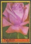Stamps United Arab Emirates -  Rosas