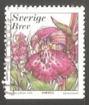 Sellos de Europa - Suecia -  Flor