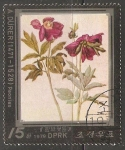 """Stamps Russia -  """"Peonies"""""""