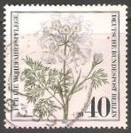 Sellos del Mundo : Europa : Alemania :   Orlaya grandiflora