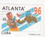 Sellos de America - Cuba -  ATLANTA'96