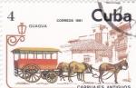 Sellos del Mundo : America : Cuba :  CARRUAJES ANTIGUOS-GUAGUA