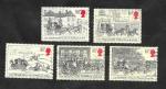 Stamps United Kingdom -  1135 a 1139 - Conmemoración del Servicio de Correos