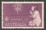 Sellos de Oceania - Australia -  Navidad 1957