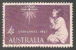 Stamps Australia -  Navidad 1957