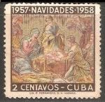 Sellos del Mundo : America : Cuba : Navidad 1957-1958