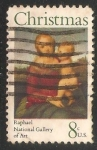 Stamps United States -  Raphael