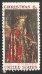 Stamps United States -  Angel Gabriel de la Anunciacion
