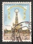 Stamps Angola -  Basilica de fatima