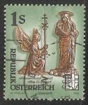 Stamps Austria -  Abadía de San gabriel
