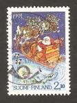 Stamps Finland -  1124 - Navidad