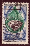 Stamps France -  Carta europea del agua