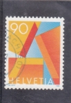 "Stamps : Europe : Switzerland :  LETRA ""A"""