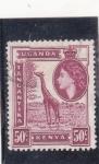 Stamps : Africa : Kenya :  JIRAFA