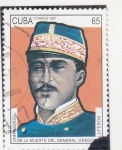 Sellos de America - Cuba -  GENERAL GREGORIO LUPERON