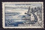 Sellos de Europa - Francia -  EVIAN