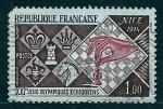 Sellos de Europa - Francia -  XXI J.O.Ajedres