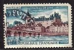Stamps France -  Castillo De GIEN