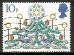 Sellos de Europa - Reino Unido -  Arbol de Navidad