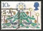 Stamps United Kingdom -  Arbol de Navidad