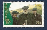 Sellos de Europa - Irlanda -  Cine Irlandes - the field